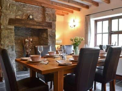 Dining room | Y Felin Barn, Llawryglyn, near Llanidloes