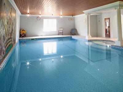 Indoor shared pool | Greenwood Grange Cottages - Henchard, Higher Bockhampton, near Dorchester