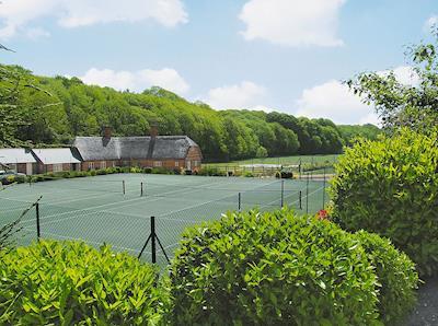 Shared tennis court | Greenwood Grange Cottages - Henchard, Higher Bockhampton, near Dorchester