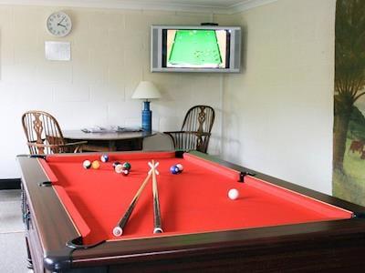 Games room | Greenwood Grange Cottages - Abbotsea, Higher Bockhampton, nr. Dorchester,  | Greenwood Grange Cottages - Melstock, Higher Bockhampton, nr. Dorchester,  | Greenwood Grange Cottages - Anglebury, Higher Bockhampton, nr. Dorchester,  | Greenwood