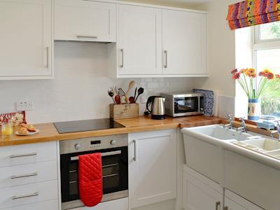 Well equipped kitchen | Knockkennoch 2 - Knockkennoch Cottages, Kirkandrews, near Borgue