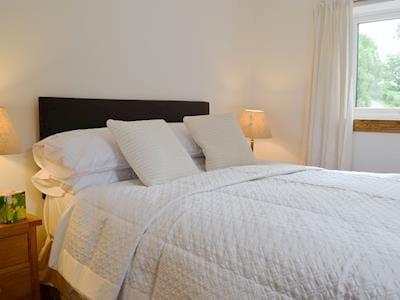 Double bedroom   Chestnut Lodge, near Portpatrick