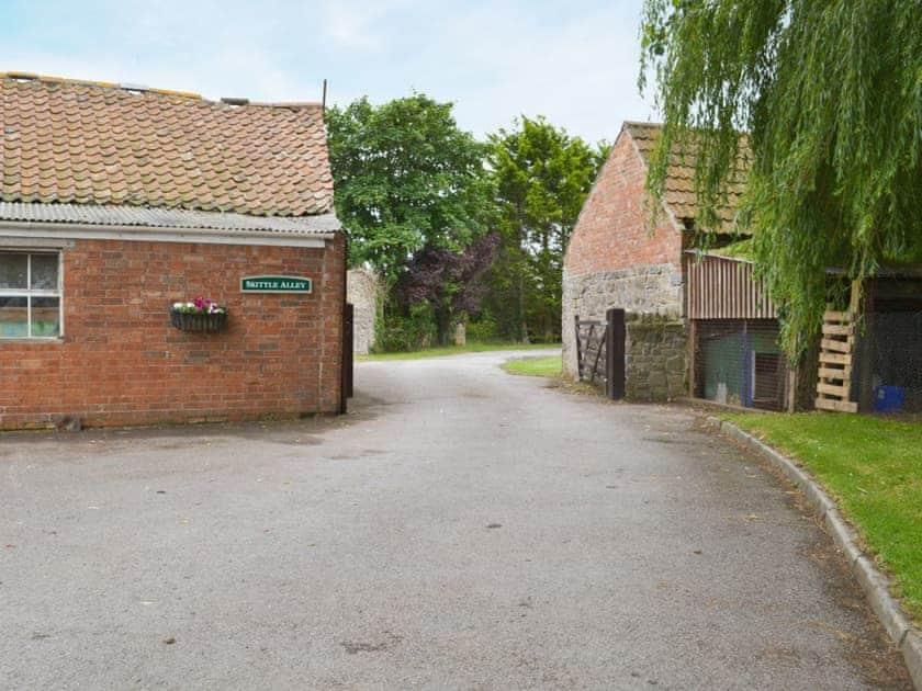 Skittle alley   Withy Grove Farm, East Huntspill, near Highbridge
