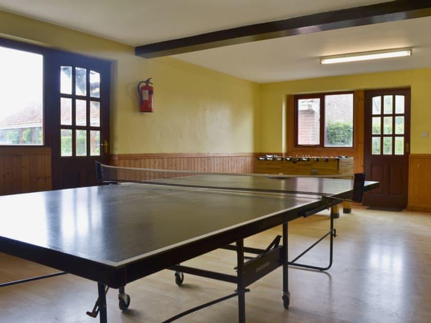 Games room   Withy Grove Farm, East Huntspill, near Highbridge