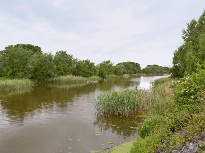 Coarse fishing available   Withy Grove Farm, East Huntspill, near Highbridge