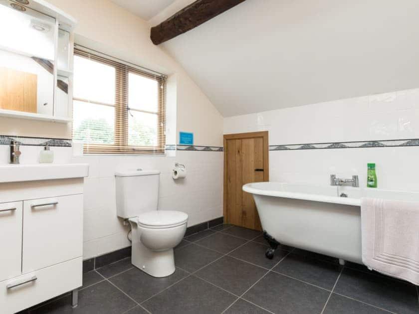 Bathroom | Brook House - Netherley Hall Cottages, Mathon, near Malvern