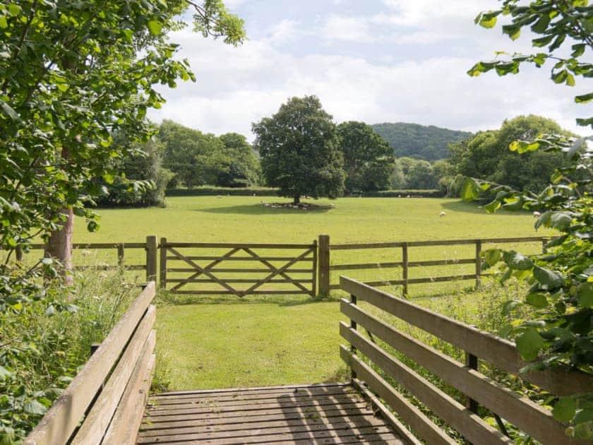 Unspoilt rural views | Brook House - Netherley Hall Cottages, Mathon, near Malvern