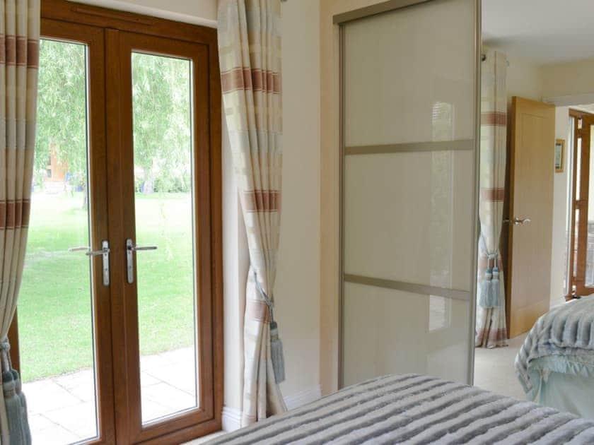 Light double bedroom | Moorland Lodge, Holt Wood, near Wimborne