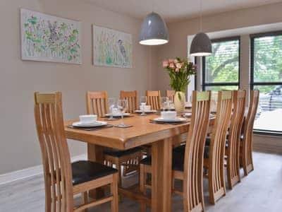 Dining Area   Lodge 3 - Mill Race Lodges, Llangunllo, near Knighton