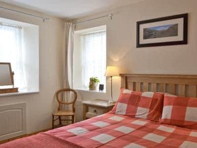 Double bedroom | The Laigh, Kinghorn, Fife