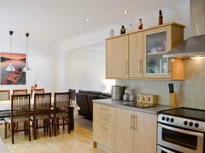 Open kitchen/ dining area | Lia Fail, Ballachulish, near Fort William