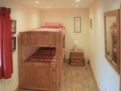 Bunk bedroom ideal for children | Peggy's Barn, Mallerstang, near Kirkby Stephen