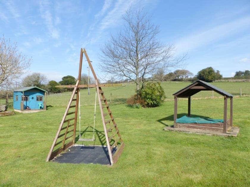 Outdoor recreation area   Lower Elsford Farm, Lustleigh, near Bovey Tracey