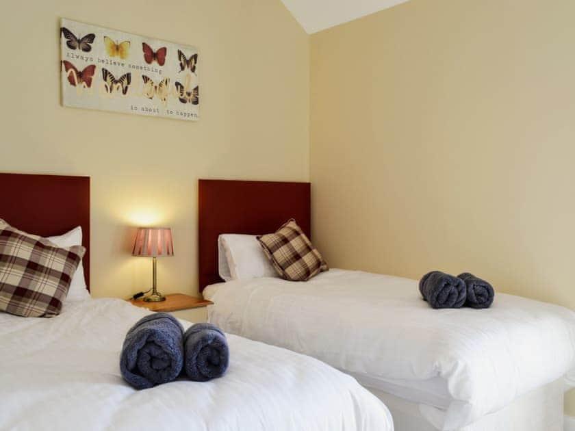 Twin bedroom | Roath - Hafan Dawel Cottages, Cilcennin, near Aberaeron