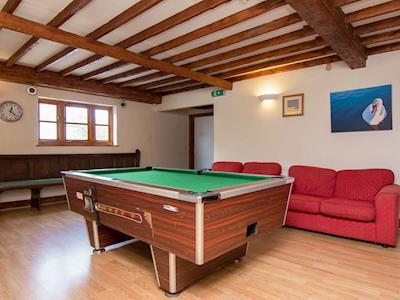 Pool table in games room | Ashcombe, Ashcombe, nr. Dawlish