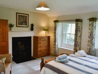 Comfortable and romantic double bedroom | Wickwoods, Wath, near Pateley Bridge