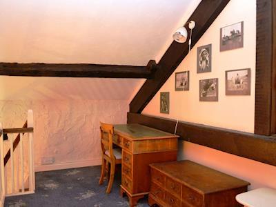 Study area on landing | Blease Barn, Threlkeld