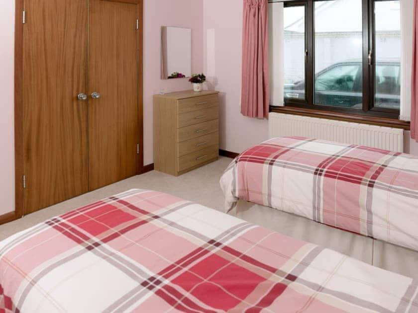 Twin bedroom | Fourwinds, Drummore, near Stranraer