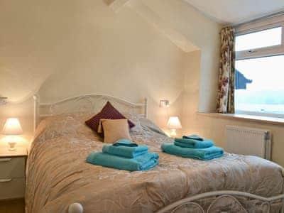 Comfortable double bedroom | Yr Hen Sgubor, Cwmystwyth