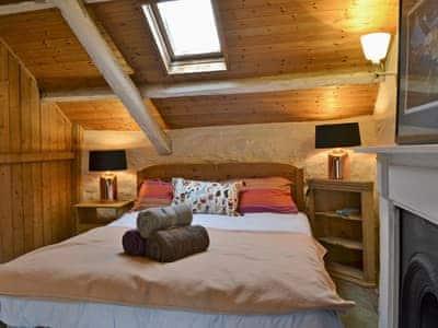 Charming double bedroom   Strata Florida Cottage, Pontrhydfendigaid, near Tregaron