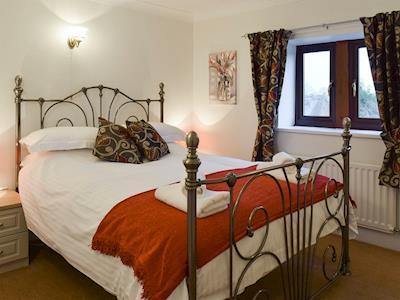 Restful double bedroom | Alltgarth, Bellerby, near Leyburn