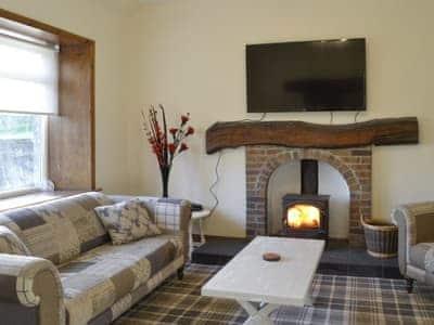 Warm and welcoming living room | Airyhemming Dairy - Airyhemming, Glenluce, near Stranraer