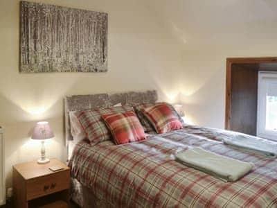 Relaxing double bedroom | Airyhemming Dairy - Airyhemming, Glenluce near Stranraer