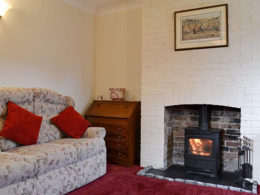Living room with wood burning stove   Rose Cottage, Bratoft, near Burgh-le-Marsh
