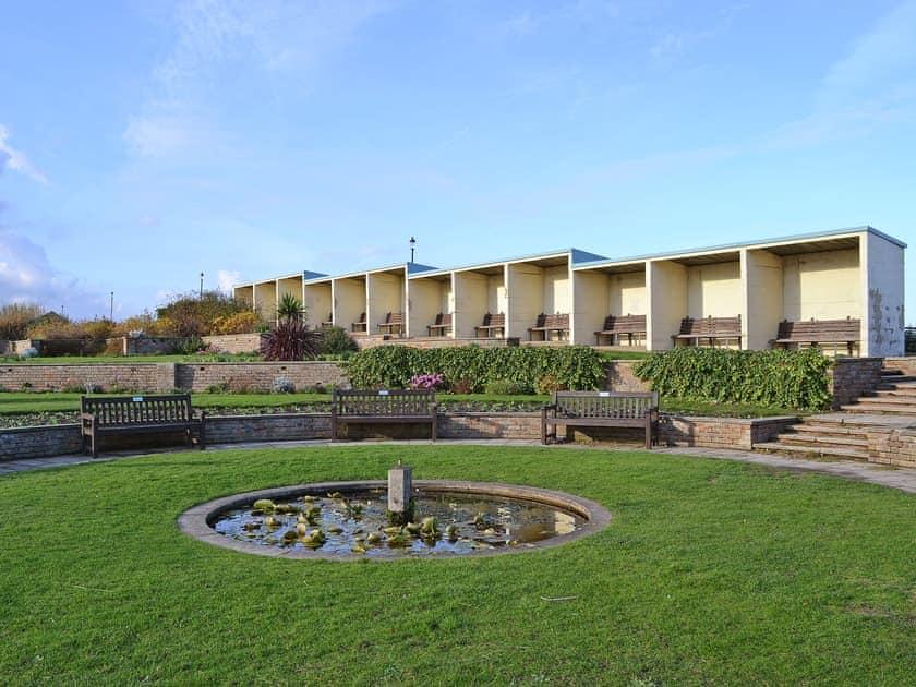 Public gardens along sheringham promenade | Seahorses, Sheringham