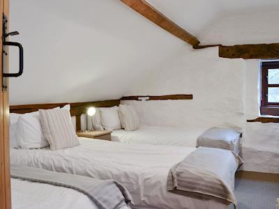 Cosy triple bedroom | Ty Isaf - Glyngynwydd Cottages and Wedding Barn, Glyngynwydd, near Llanidloes
