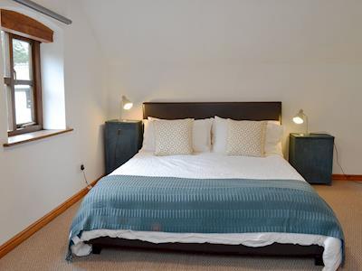 Charming double bedroom | Ty Uchaf - Glyngynwydd Cottages and Wedding Barn, Glyngynwydd, near Llanidloes