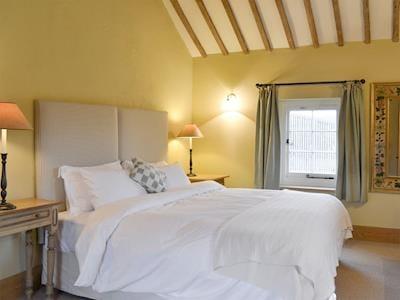 Restful first floor double bedroom | The Dairy - Collfryn Farm Cottages, Llansantffraid, near Oswestry