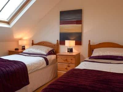 Twin bedroom | The Old Laundry 1, Keswick