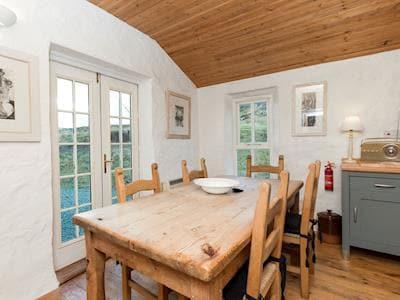 Charming dining area | Old Lighthouse Keeper, Milovaig, Isle of Skye