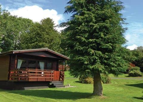 Holiday Lodge Hot Tub Dumfries Galloway