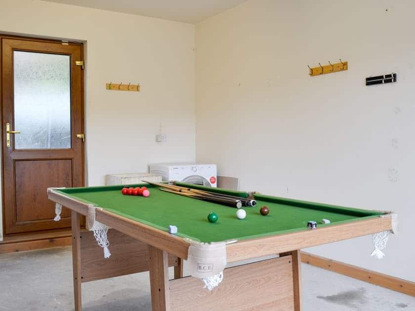 Games room | Corlan, Llanfarian, near Aberystwyth
