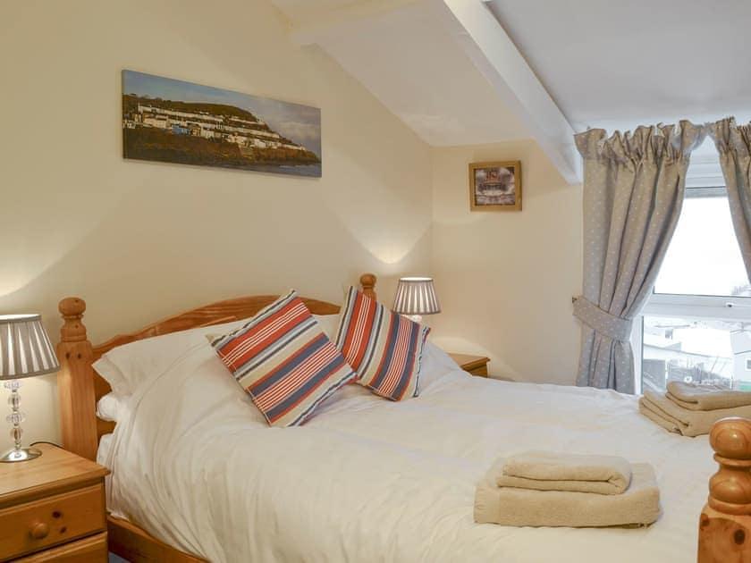 Restful second double bedroom | Montrose, New Quay
