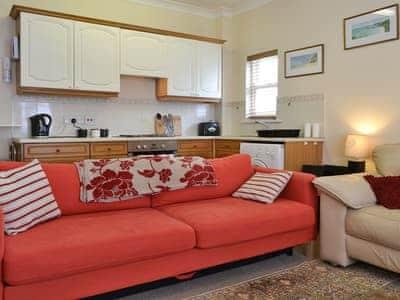 Stylish open plan living area | Packhorse Court, Keswick
