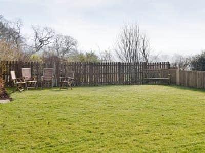 Enclosed lawned garden | Town Head Farm, West Hall, near Brampton