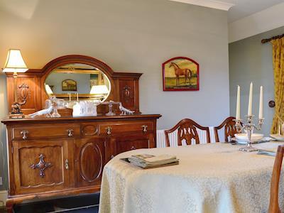 Excellent dining room | Ampherlaw Cottage, near Lanark