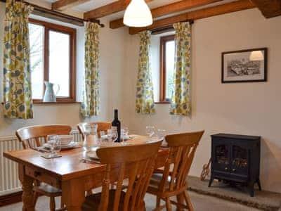 Dining area   Blue Plain Cottages No 2, Glasshouses, near Pateley Bridge