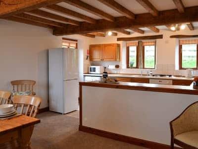 Kitchen & dining area   Blue Plain Cottages No 2, Glasshouses, near Pateley Bridge