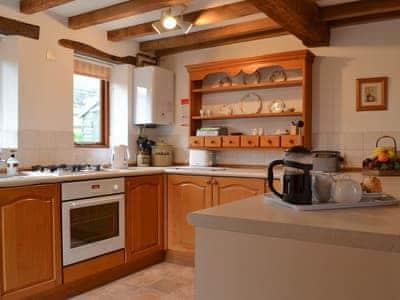 Kitchen   Blue Plain Cottages No 2, Glasshouses, near Pateley Bridge