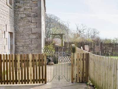 Charming patio area  | Town Head Farm, West Hall, near Brampton