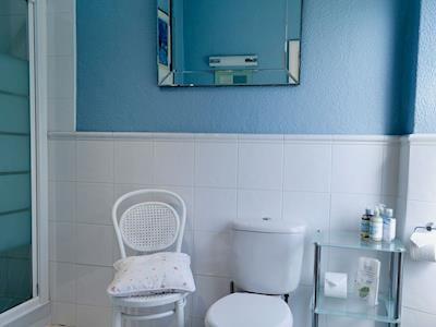 En-suite shower room | Gilbert Scar Foot, Under Loughrigg, near Ambleside
