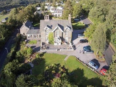 Aerial view | Grange House, Keswick