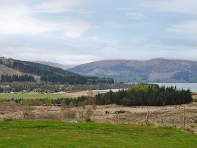 Wonderful panoramic views   Brackletter Lodge, Kilmonivaig, near Fort William