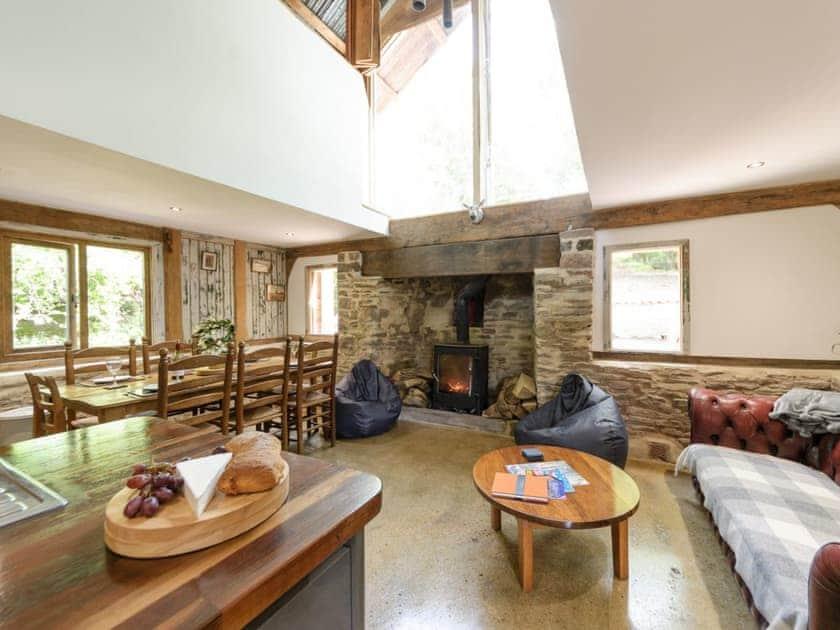 Delightful open plan living space | The Retreat, Longhope, near Gloucester