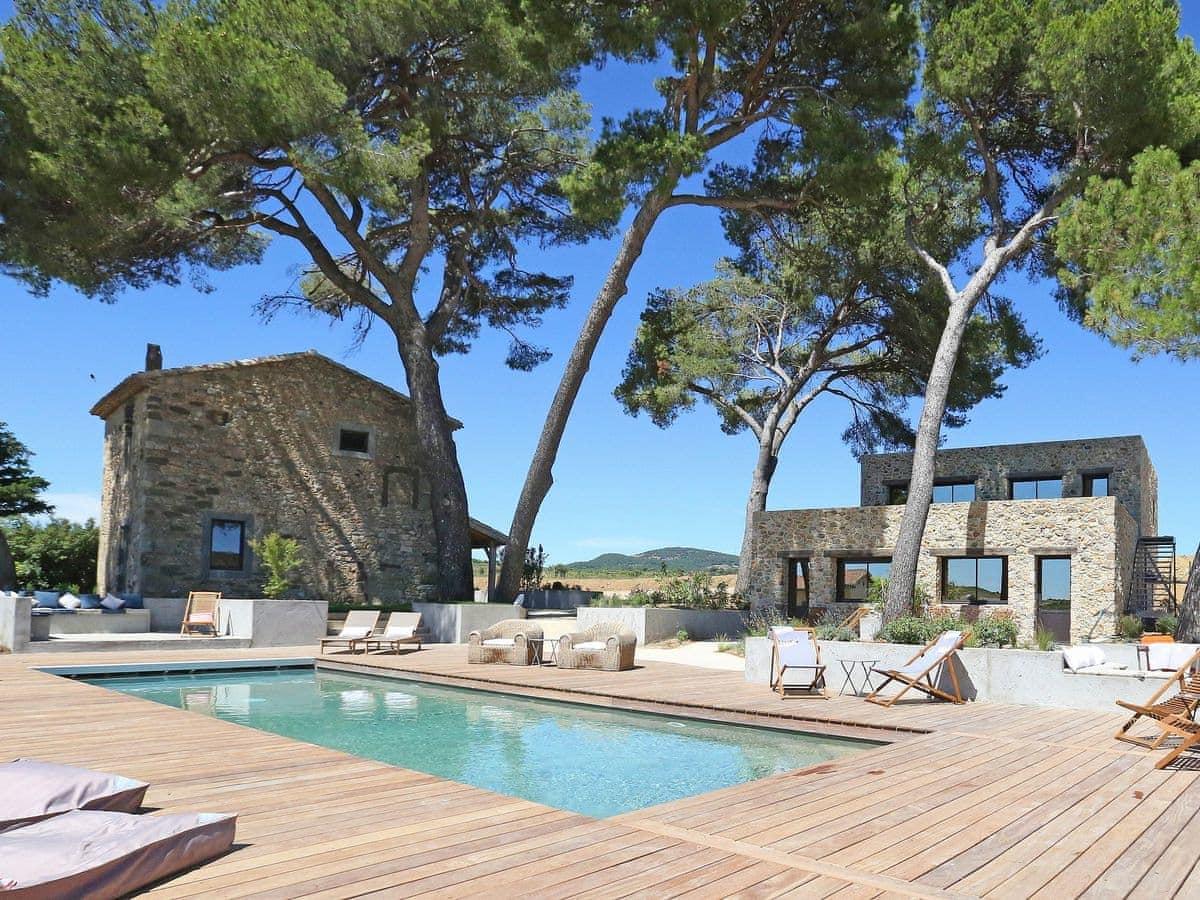 A Attractive, Terraced, Stone Holiday | Gite Hazathe, ...