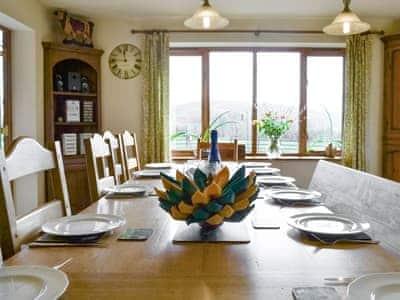 Large dining area   Solitude, Aberhafesp, near Newtown